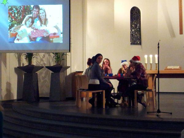 Gottesdienst in der Dorper Kirche