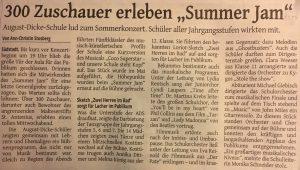 Artikel Sommerkonzert
